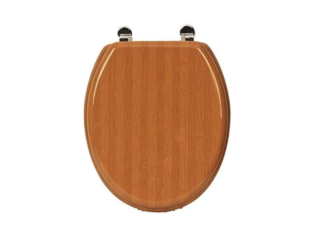 Καπάκι Λεκάνης τουαλέτας για το μπάνιο, Ξύλινο κάλυμμα λεκάνης σε αποχρώσεις φυσ μπάνιο   αξεσουάρ μπάνιου