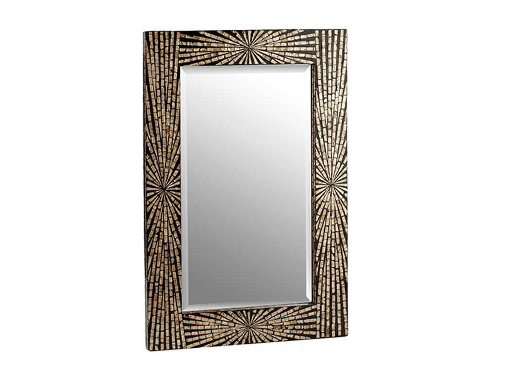 Ψηφιδωτός διακοσμητικός καθρέφτης, σε Ορθογώνιο σχήμα και διαστάσεις 61x3x90 εκατοστά - Gift Decor
