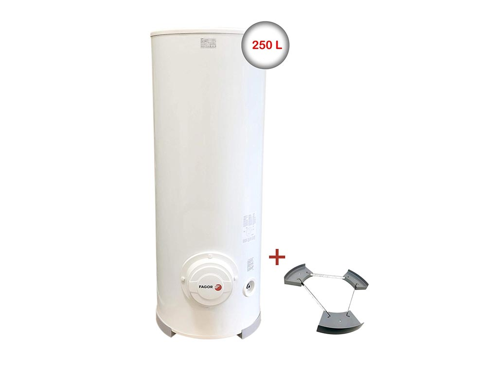 Ηλεκτρικός Θερμοσίφωνας 3000W χωρητικότητας 250L, κάθετης τοποθέτησης, 148.2x57x50cm, Fagor Μ-250 - Fagor