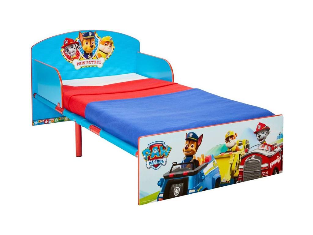 Paw Patrol Παιδικό Μονό κρεβάτι διαστάσεων 42,5x77x143 εκατοστά, Nickelodeon - H κατοικίδια   κρεβάτια και στρώματα