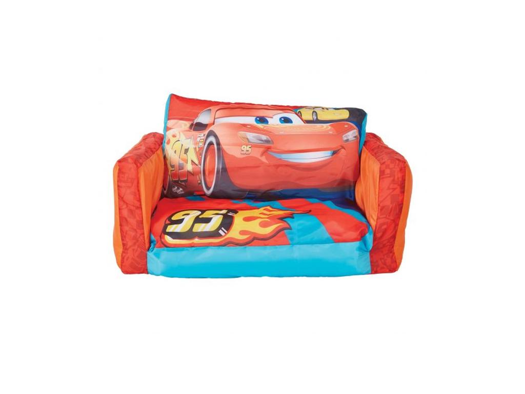 Disney Φουσκωτό Παιδικό Πουφ Πολυθρόνα με απεικόνιση Cars McQueen που γίνεται κρ μωρά και παιδιά   παιδική διακόσμηση