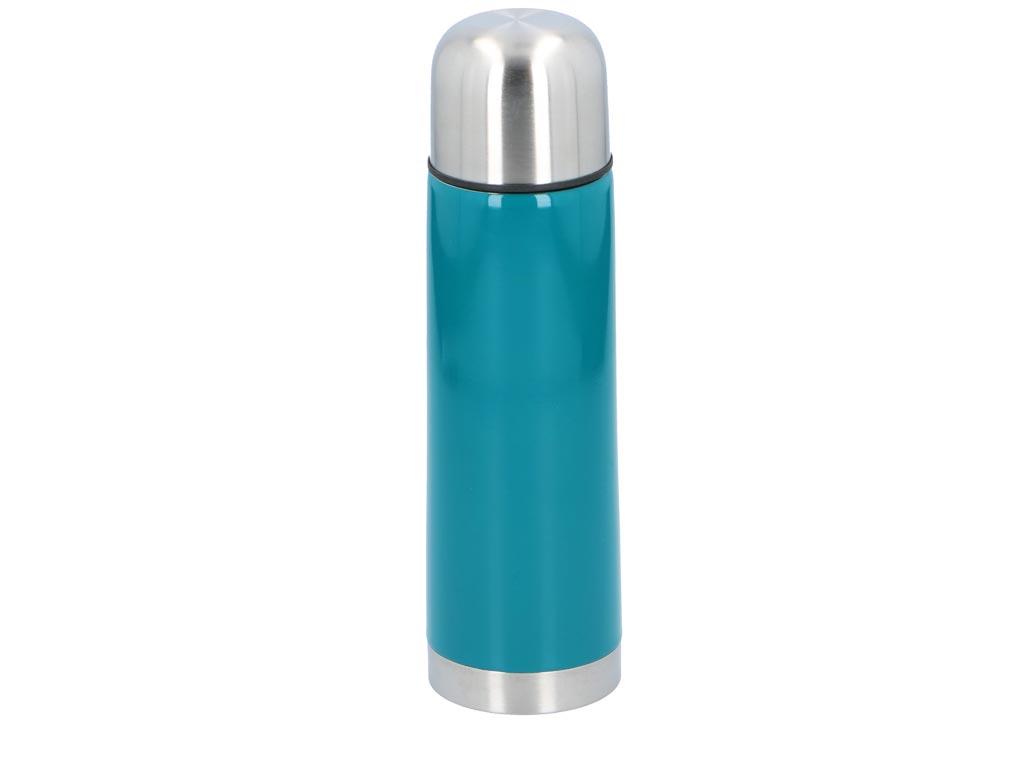 Θερμός 750ml Κενού Αέρα για Καφέ και Ροφήματα σε 3 χρώματα, 8x28cm, Alpina Switzerland Vacuum Flask Μπλε - Alpina Switzerland