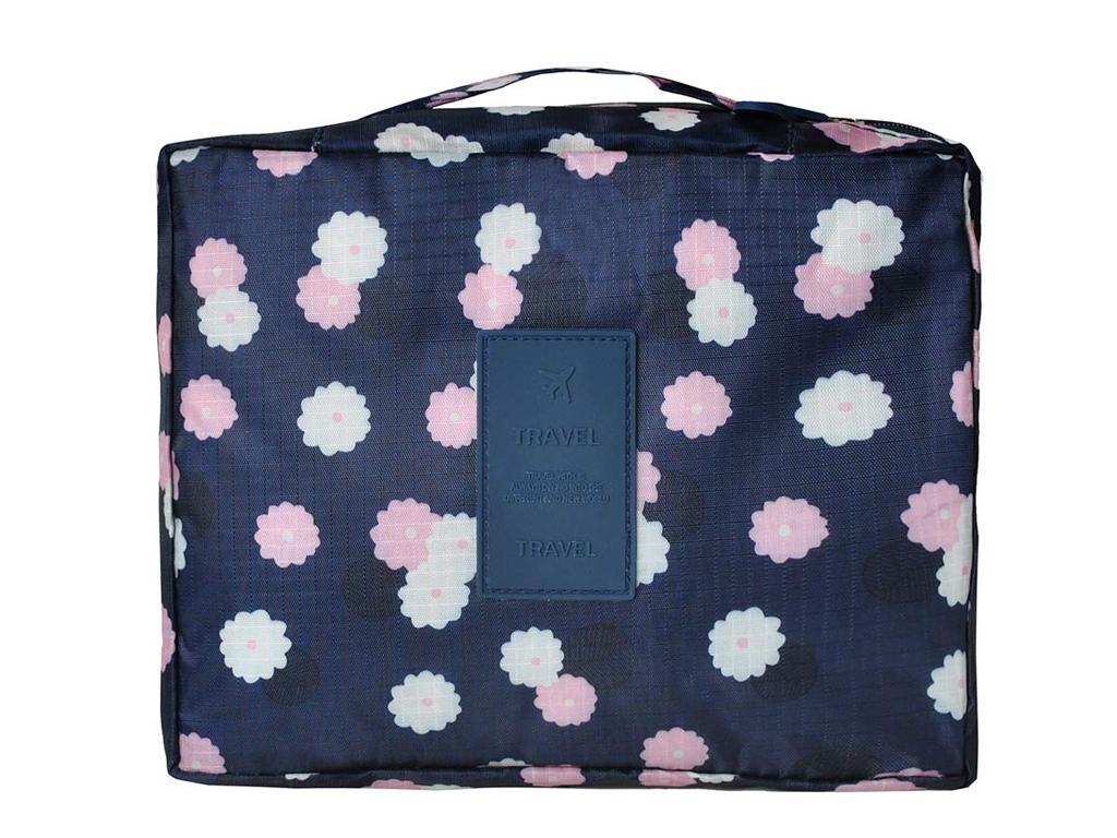 896119ec23 Τσάντα ταξιδίου Νεσεσέρ για καλλυντικά με 5 διαχωριστικούς χώρους  αποθήκευσης και οργάνωσης των αντικειμένων σας