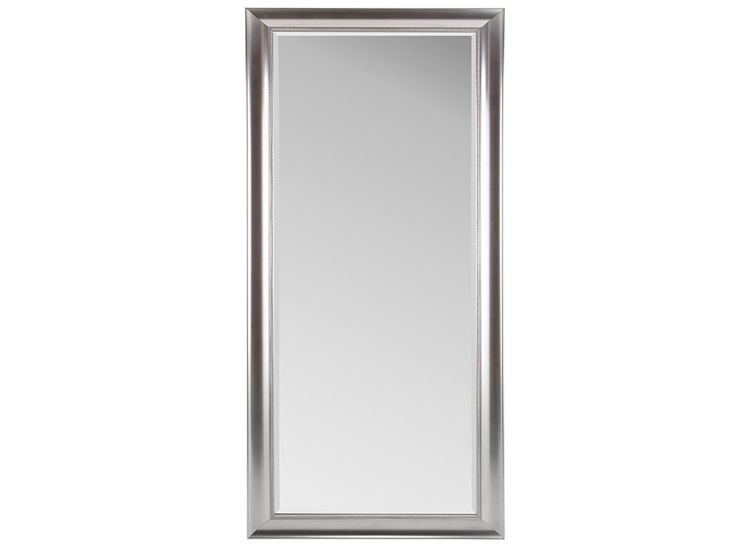 Διακοσμητικός καθρέφτης Claire με διαστάσεις 70x170cm σε ασημί χρώμα επενδεδυμένο με μεταλλικό πλαίσιο - Cb