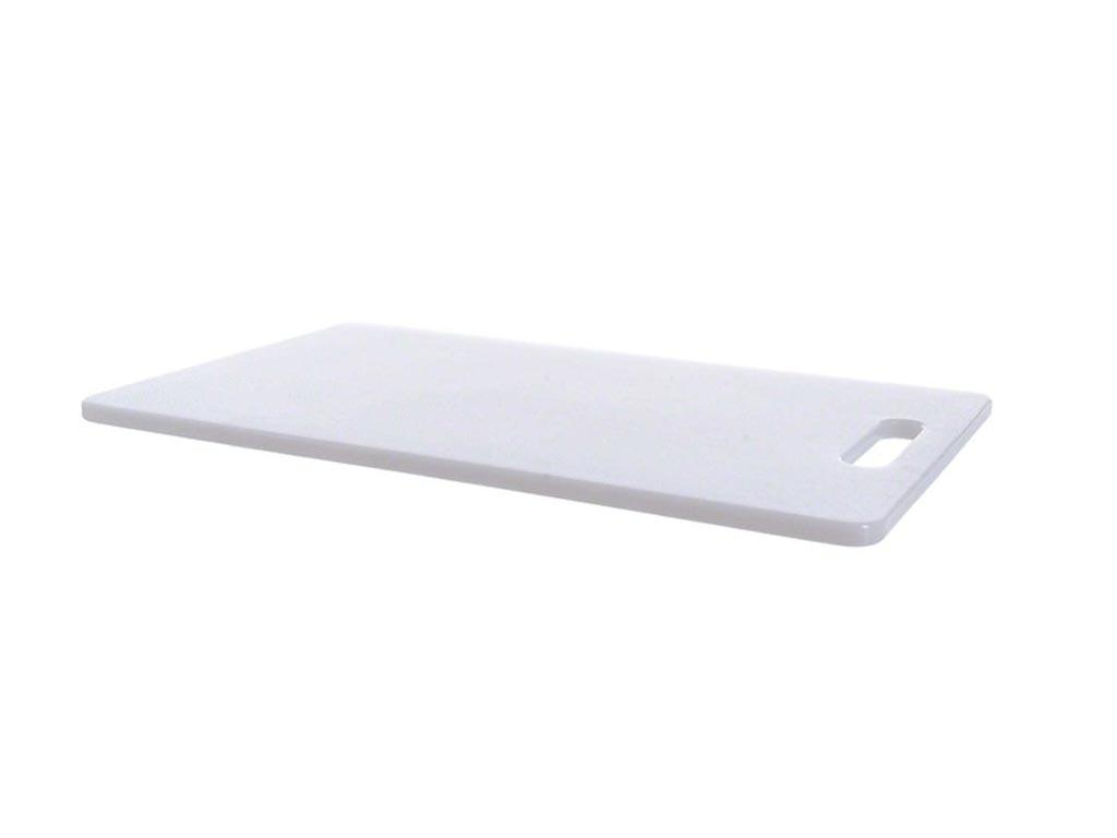 Βάση Κοπής Ορθογώνια Πλαστική, 33x20cm, σε Λευκό χρώμα - Cb