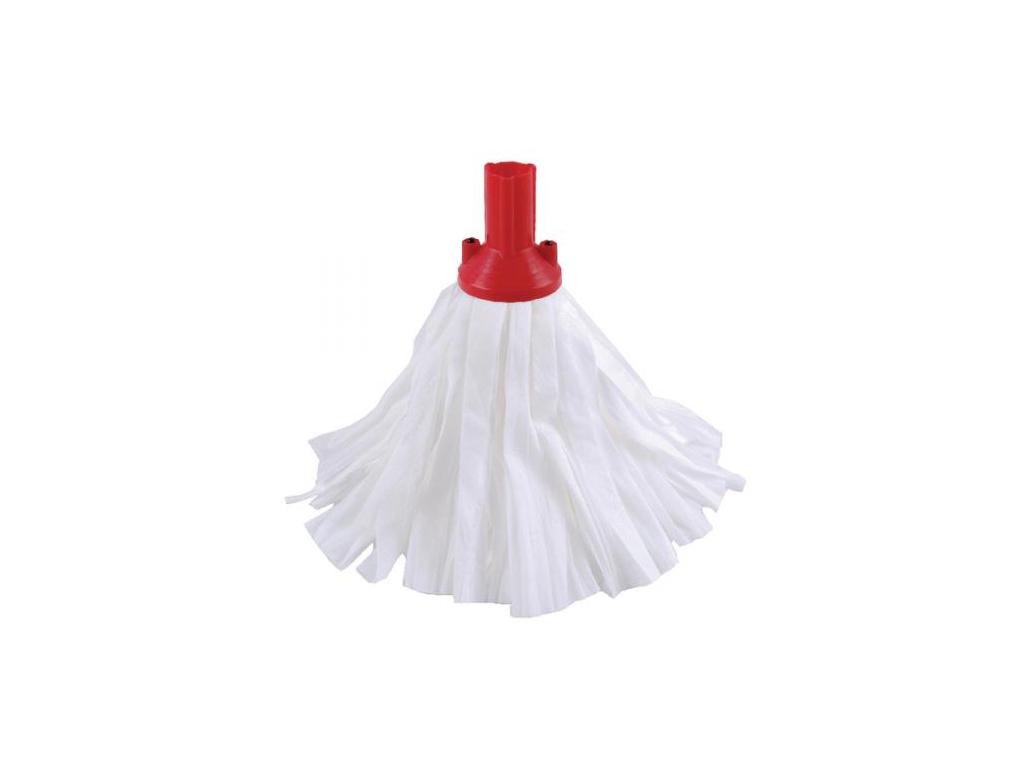 Σφουγγαρίστρα Κεφαλή σφουγγαρίστρας από Βισκόζη σε λευκό χρώμα με βάση σε 4 διαφορετικά χρώματα Κόκκινο - Ultra Clean®