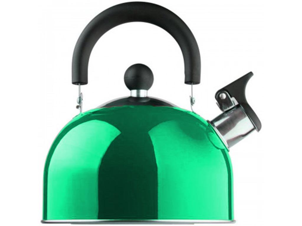 Βραστήρας Νερού 1.5lt, με ηχητική ειδοποίηση σφύριγμα, από ανοξείδωτο χάλυβα, σε 6 χρώματα Πράσινο - Edenberg