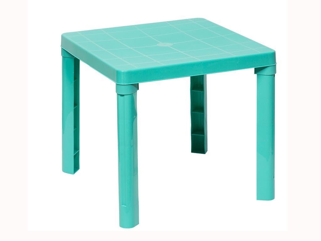 Παιδικό τραπέζι 50,3x50.3x46cm σε 4 χρώματα, Cb 89009 Πράσινο Βεραμάν - Aria Trade