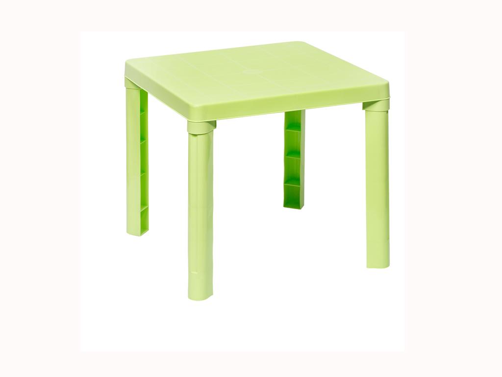 Παιδικό τραπέζι 50,3x50.3x46cm σε 4 χρώματα, Cb 89009 Χρώμα Λαχανί - Aria Trade