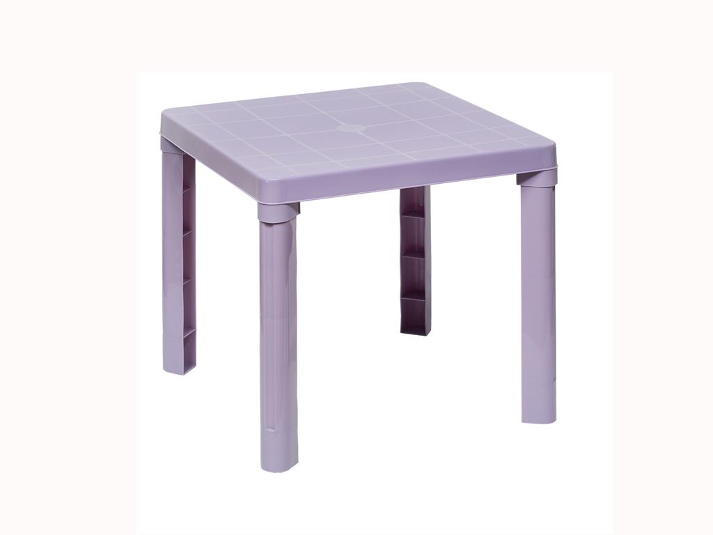 Παιδικό τραπέζι 50,3x50.3x46cm σε 4 χρώματα, Cb 89009 Χρώμα Μωβ - Aria Trade