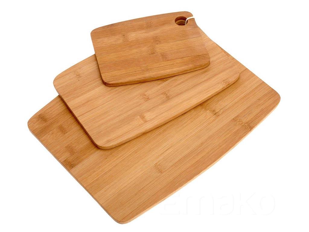 Bamboo Σετ Επιφάνεια Κοπής 3 τεμαχίων, 3 μεγεθών, 784200320 - Excellent Houseware