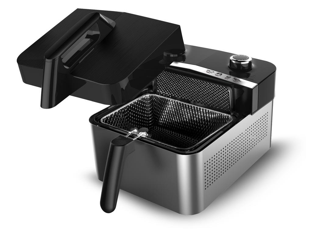 Φριτέζα Αέρος 1200Watt για μαγείρεμα με ελάχιστο λάδι, χωρητικότητας 3,2 Λίτρα, TT-AF1 - TurboTronic