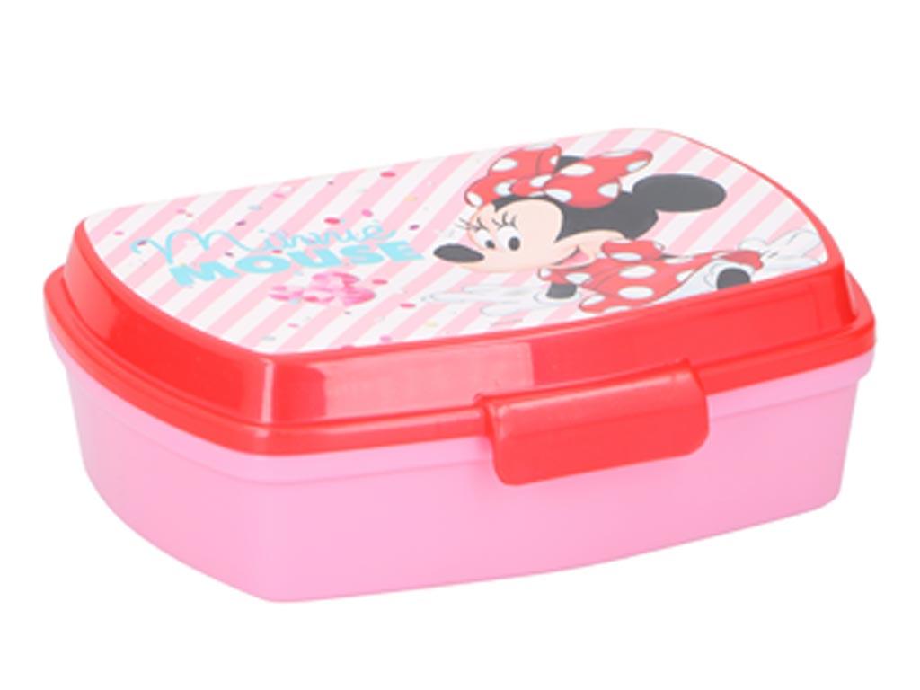 Disney παιδικό δοχείο φαγητού BPA free 17x14x6 εκατοστά, με παιδικούς ήρωες σε 5 σχέδια Minnie Mouse - Disney