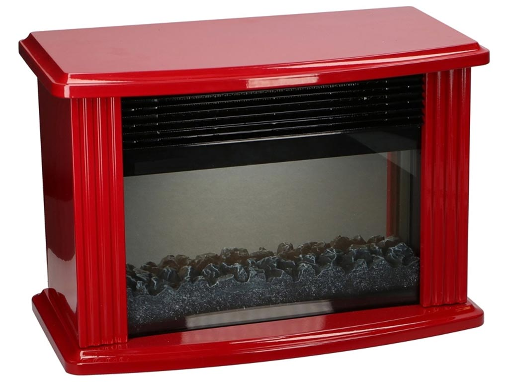 Classic Fire ηλεκτρικό τζάκι 1500 Watt με LED εφέ τζακιού, διαστάσεων 36x20x26, 01394 - Classic Fire