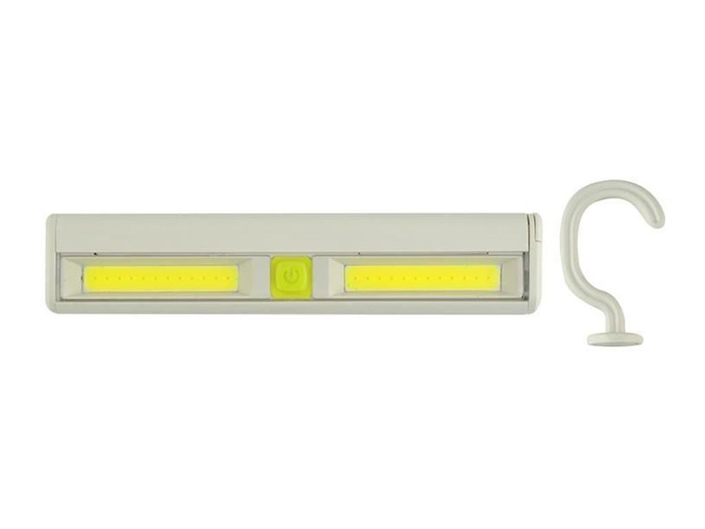 Φορητή Λάμπα 24 LED με 2 επίπεδα φωτισμού, διαστάσεις 16x3.3x2 εκατοστά - Aria Trade