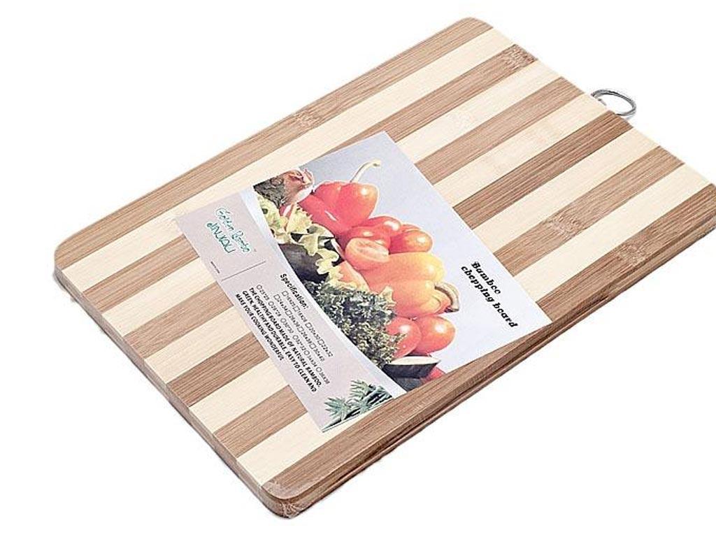 Ξύλο Κοπής Λαχανικών από μπαμπού 34 x 24 εκ. - OEM