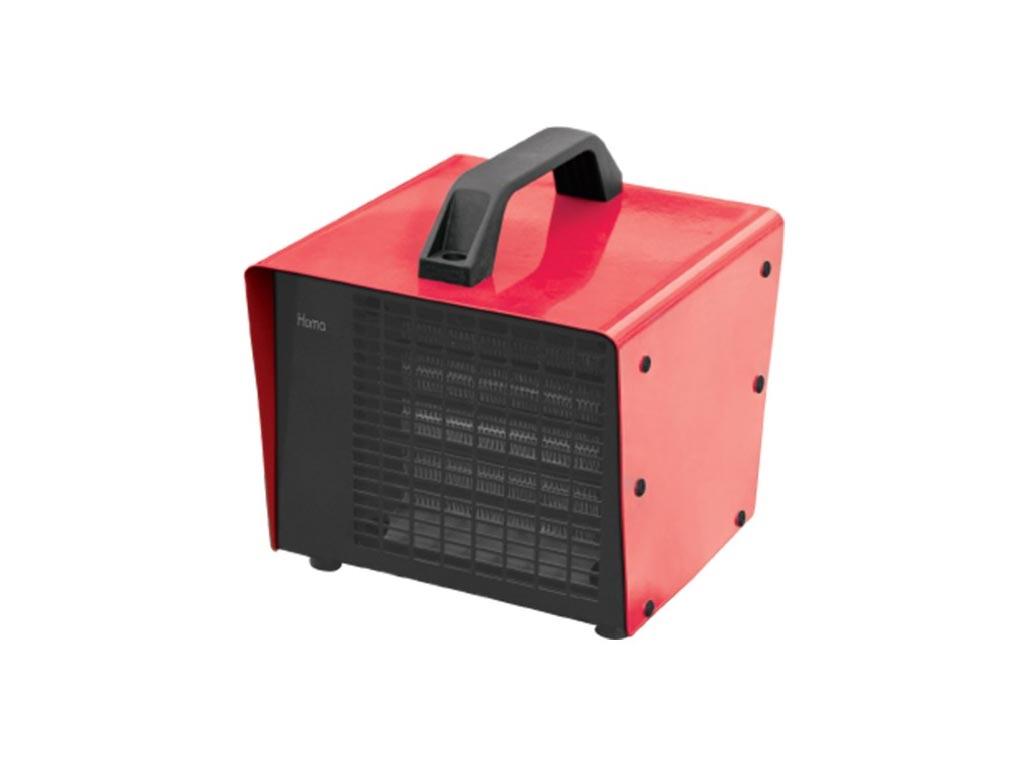 Αερόθερμο δαπέδου 2000W με 2 Επίπεδα Θέρμανσης σε Κόκκινο χρώμα, Homa HMF-2290 - Homa