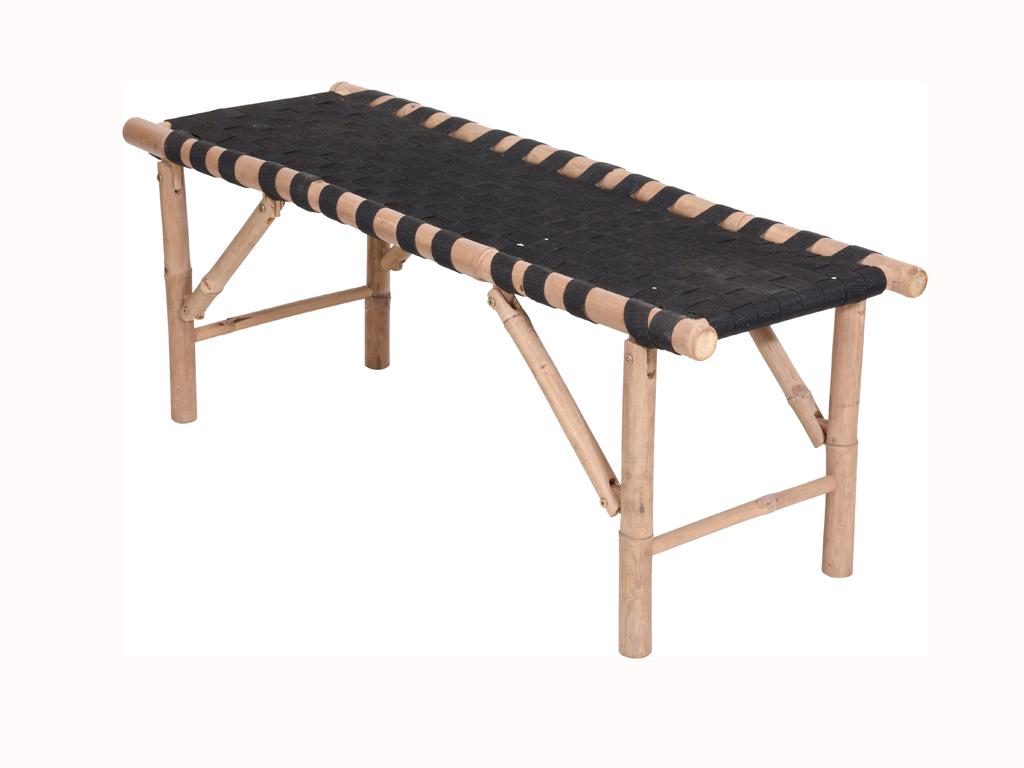Αναδιπλούμενο Κρεβάτι Κλίνη για Μασάζ για Φυσιοθεραπεία και θεραπείες Spa από Bamboo, 117x40x45cm - Aria Trade