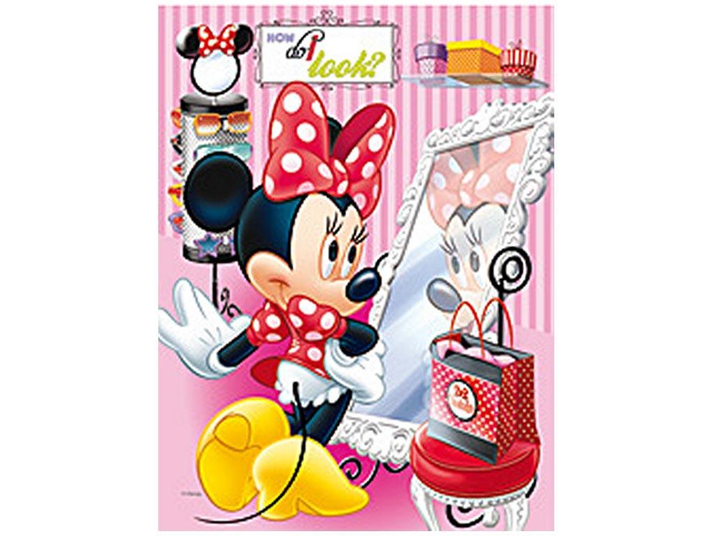 Κορνίζα κρεμαστή 30x40 με γυαλί και κλιπς, Disney Minnie 2013275 - Disney