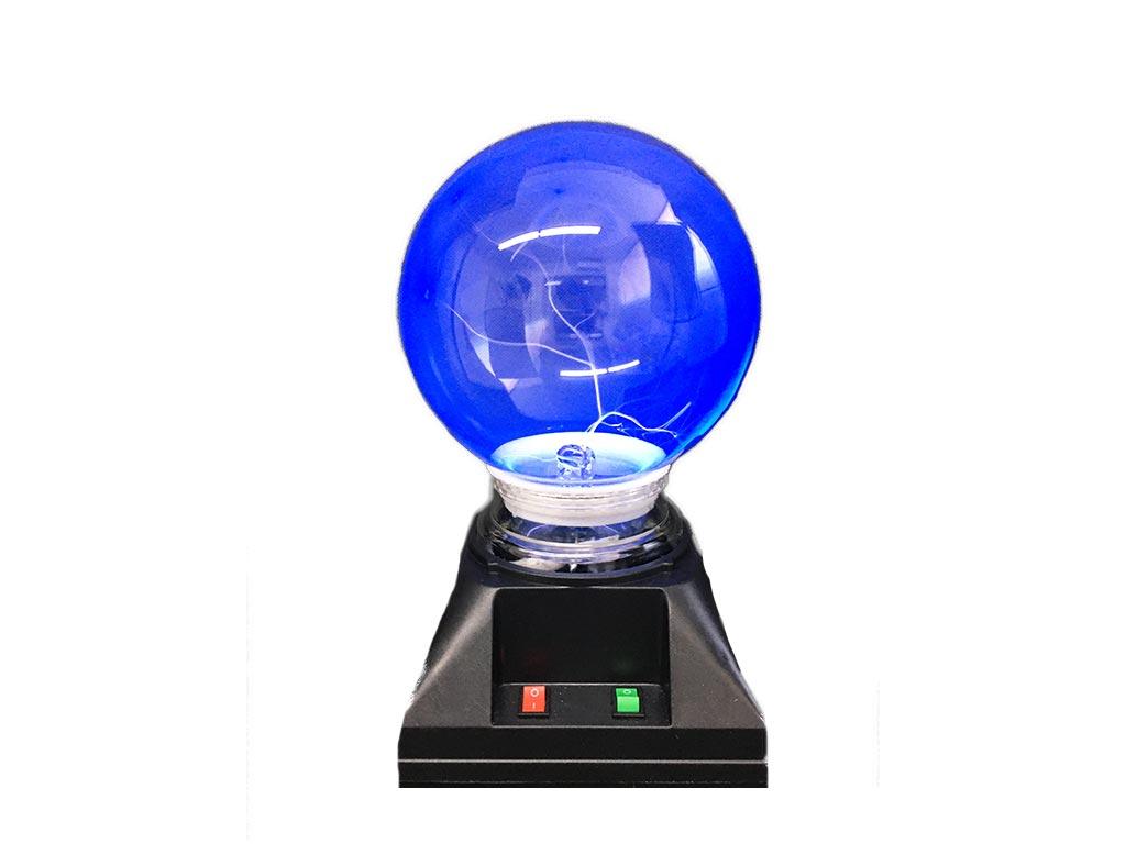 Λάμπα Magic Plasma Light Ball με μπλε φως και ήχο με ύψος 19 εκατοστά - Aria Trade