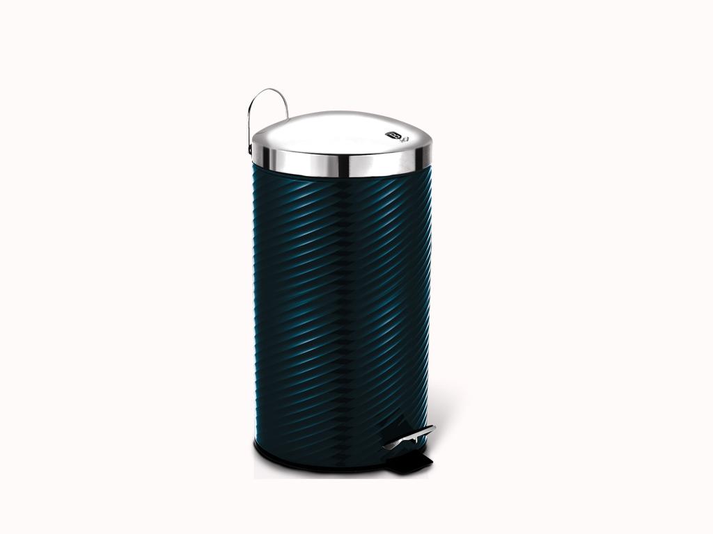 Berlinger Haus Κάδος απορριμάτων 20 λίτρων από Ανοξείδωτο ατσάλι, Metallic Line Aquamarine Edition, BH-6437 – Berlinger Haus
