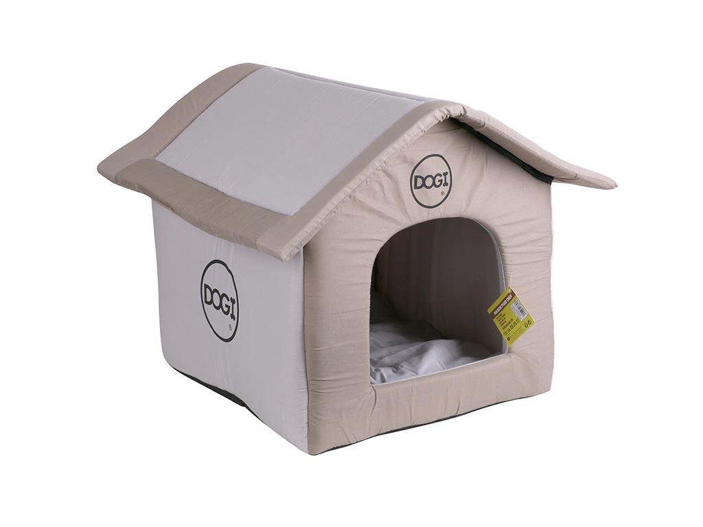 Σπιτάκι σκύλου σε καφέ χρώμα, 40x35x42 cm - Urban Living