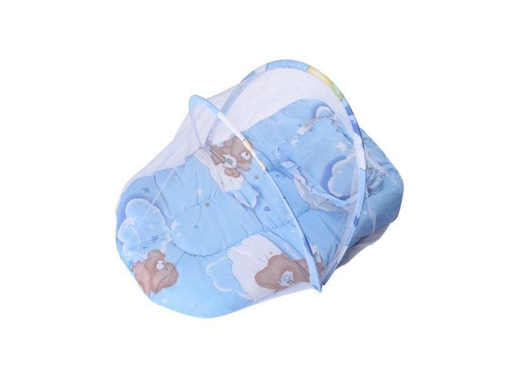 Πτυσσόμενη Σκηνή για μωρά με μουσική σε μπλε χρώμα - Aria Trade