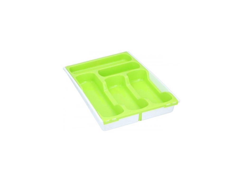 Curver Επεκτεινόμενη Θήκη για Μαχαιροπίρουνα σε πράσινο χρώμα, 30-40x42.5x6 cm - Curver