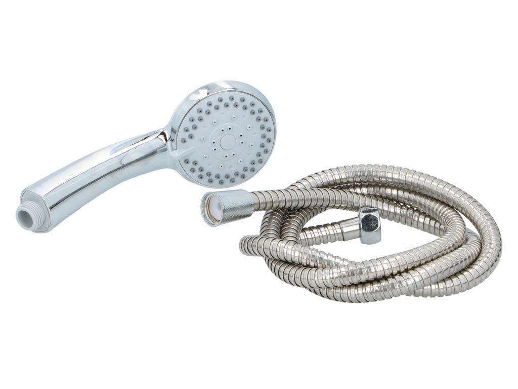 Τηλέφωνο Ντους διαμέτρου 8 cm με σπιράλ και 5 λειτουργίες, Bath & Shower - Bath&Shower