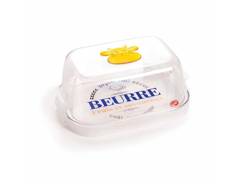 Δοχείο Φαγητού με καπάκι ιδανικό για βούτυρο, 17x11x7 cm - Aria Trade