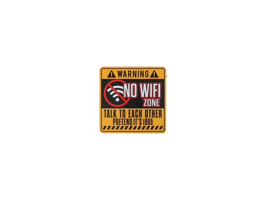 Μεταλλική Πινακίδα Σήμανσης σε 4 επιλογές, 30x30x0.7 cm, Warning Board Σχέδιο 3 - Aria Trade
