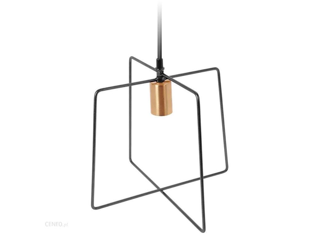 Μεταλλικό Κρεμαστό Φωτιστικό Οροφής σε Μαύρο Χρώμα ύψους 29cm, Metal pendant - Aria Trade