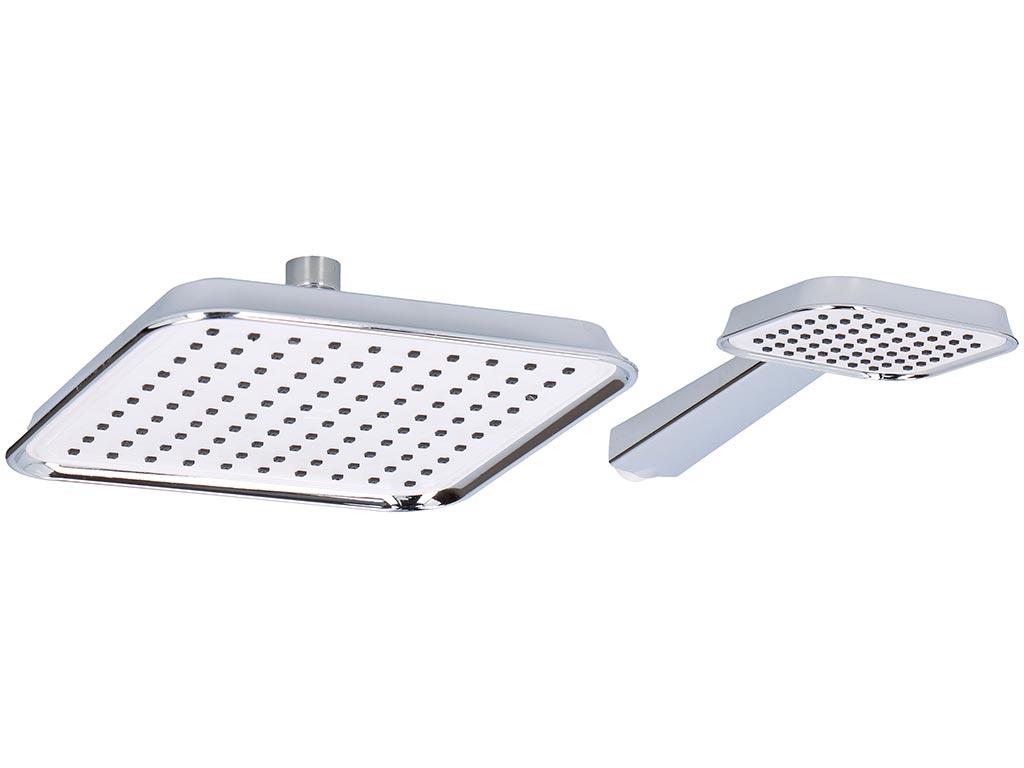 Σετ 2 τεμαχίων Τηλέφωνο Ντους Μπάνιου σε ασημί χρώμα, Bath & Shower - Bath&Shower