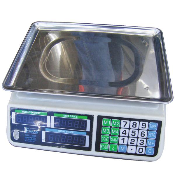 Ηλεκτρική επιτραπέζια ζυγαριά Επαναφορτιζόμενη, με Εύρος ζύγισης από 200gr έως 40kg - Cb