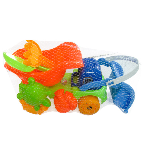 Σετ 6 τεμ Πλαστικό Φορτηγό Παραλίας 38x20cm για ηλικίες άνω των 3 ετών, 42-419 - παιχνίδια   άλλα παιχνίδια