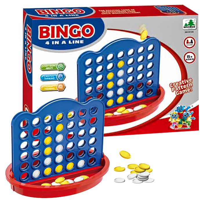 Επιτραπέζιο παιχνίδι BINGO IN A LINE σε μέγεθος ταξιδίου - Cb παιχνίδια   επιτραπέζια παιχνίδια