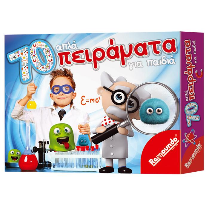 Επιτραπέζιο παιχνίδι 70 Απλά Πειράματα - Remoundo παιχνίδια   επιτραπέζια παιχνίδια