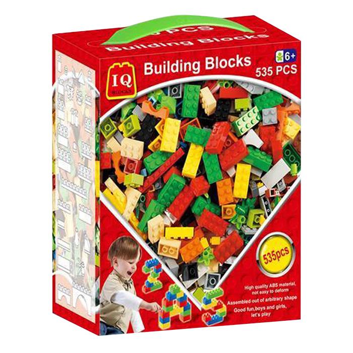 Σετ Παιδικά Πολύχρωμα Τουβλάκια 535 τεμ Κατάλληλο για παιδιά άνω των 6 ετών - Cb παιχνίδια   τουβλάκια