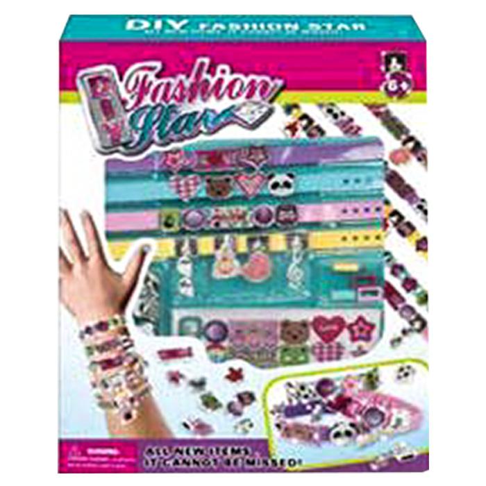 Σετ Δημιουργίας Κοσμημάτων, Φτιάξε Βραχιόλια σε Διάφορα Σχέδια, Fashion Mini - C παιχνίδια   σετ ομορφιάς