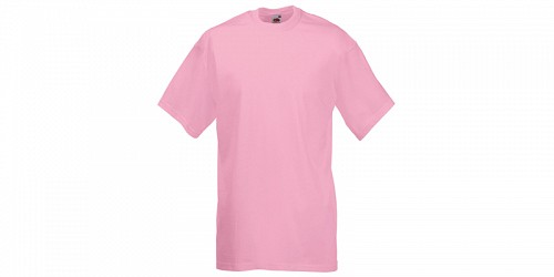 "Ανδρικό T-Shirt, ""Valueweight Τ"", Light Pink No 52, Fruit of the Loom 10000003"