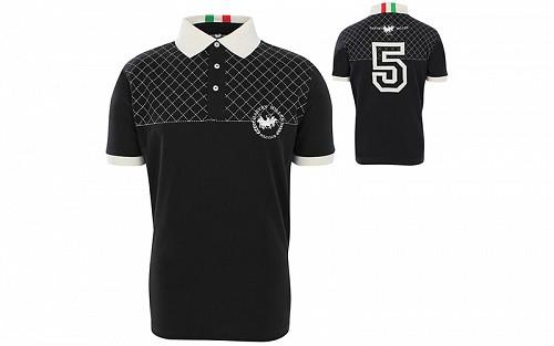 af8ed439b7b Pierre Cardin Ανδρικό μπλουζάκι polo T-Shirt με κοντό μανίκι και κουμπιά σε  Μαύρο χρώμα   Ανδρικές Μπλούζες - hellas-tech.gr