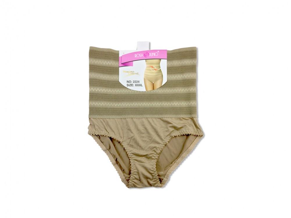 90ab423838b Γυναικείο Εσώρουχο Maxi Σλιπ (Slip) - Κορσές για Επίπεδη κοιλιά σε Μπεζ  Σκούρο χρώμα