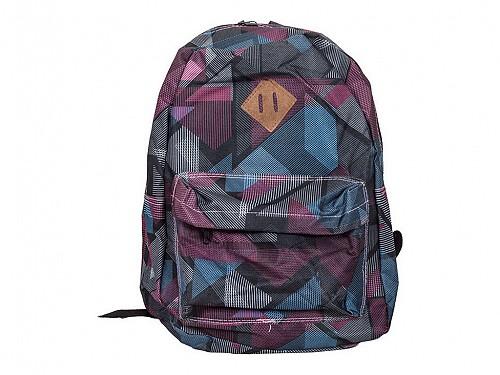 67e10bb728 Σχολική Ανατομική Τσάντα Πλάτης Σακίδιο με Γεωμετρικά σχέδια σε Μοντέρνο  στυλ