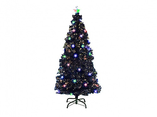 Artificial Christmas Tree Type with Fiber with Stars and Base 150cm