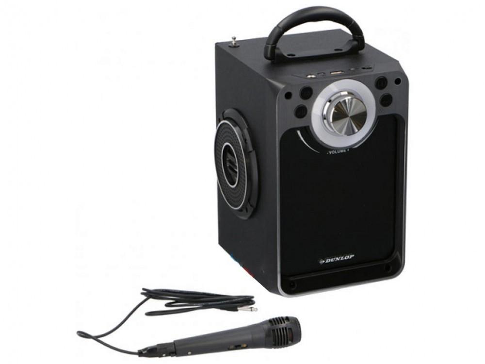 3 W LED-Licht Bluetooth Lautsprecher DUNLOP